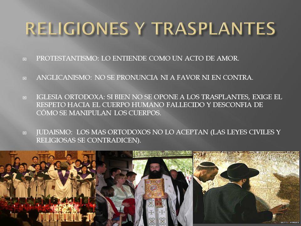 EVANGELISTA: SE PRONUNCIA A FAVOR DE LA DONACION.