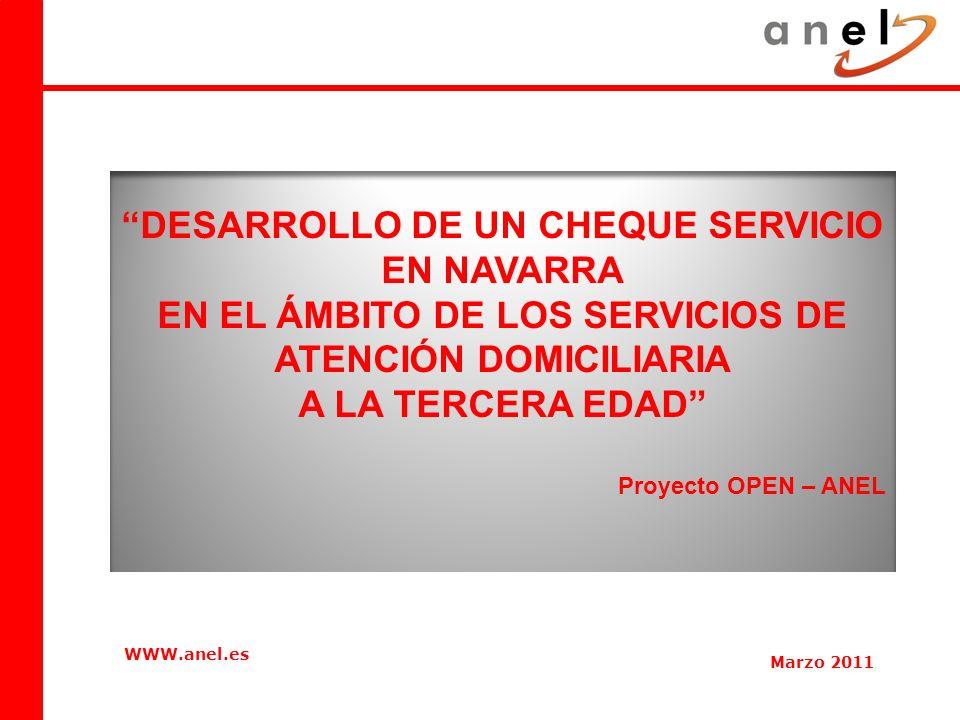 4 INDICE 1.Situación de la atención domiciliaria a la tercera edad en Navarra.