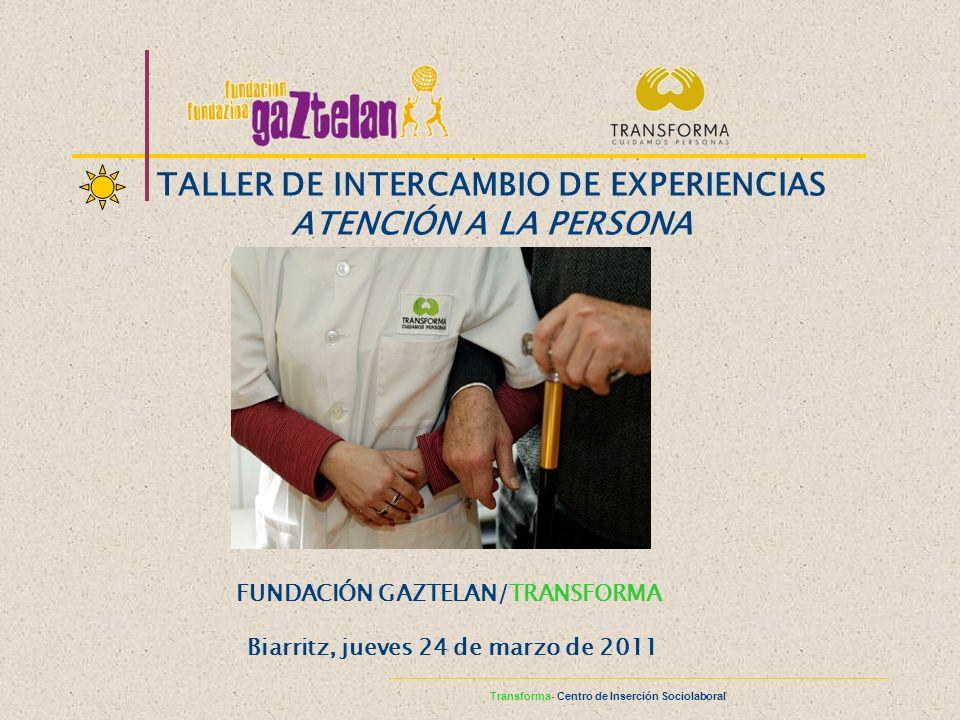 www.cuidamospersonas.org Yolanda García García yolanda@gaztelan.org Maite Garcia Garcia maiteg@gaztelan.org TRANSFORMA C/ Las Provincias, 6 Bajo 31014-Pamplona Teléfono 948 136 141