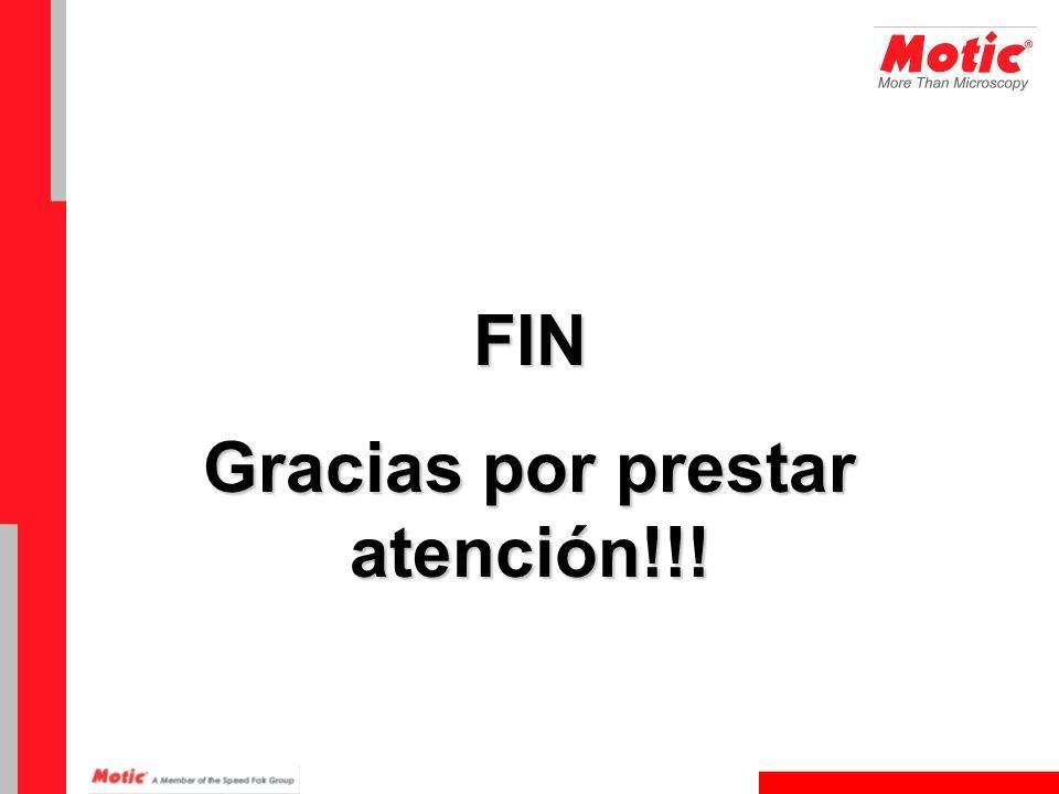 FIN Gracias por prestar atención!!!