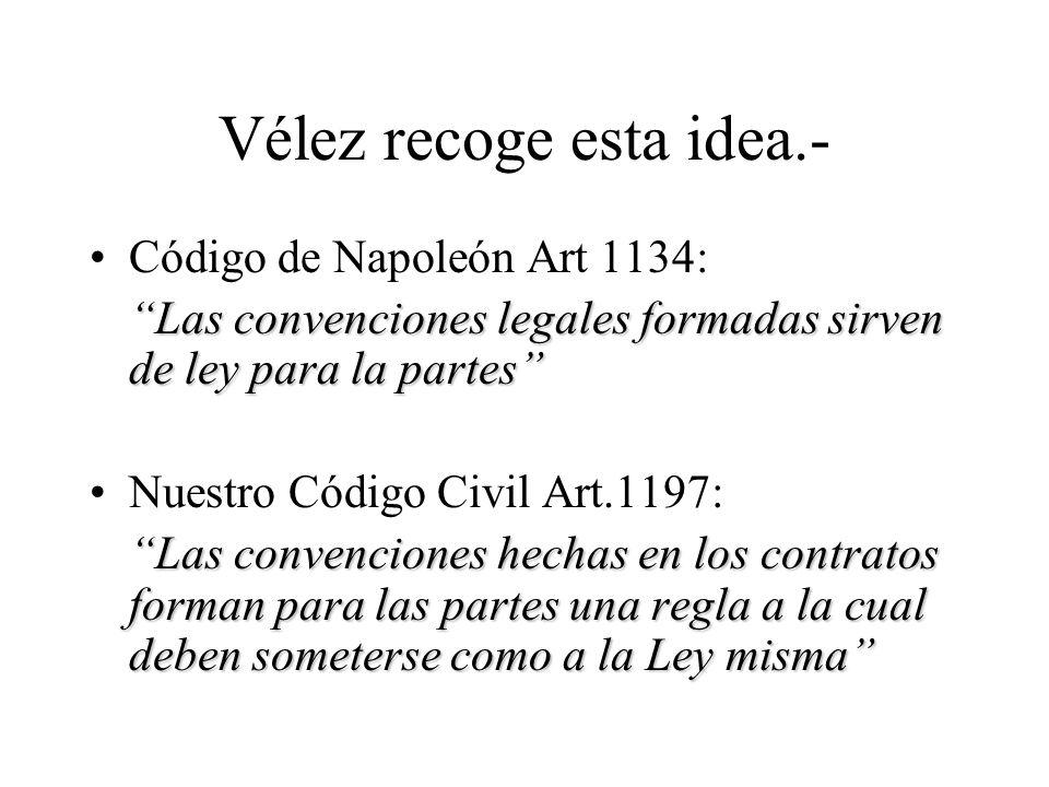 Evolución del contrato El contrato en el momento de la codificación El Siglo XIX fue testigo de la máxima exaltación de la voluntad como poder jurígen