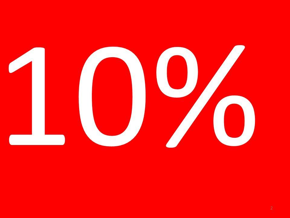 10% 2