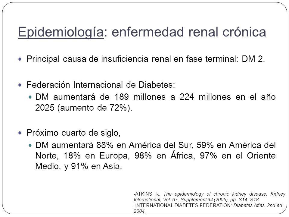 Meguid A, Bello K. Chronic kidney disease: the global challenge. Lancet 2005; 365: 331–40.