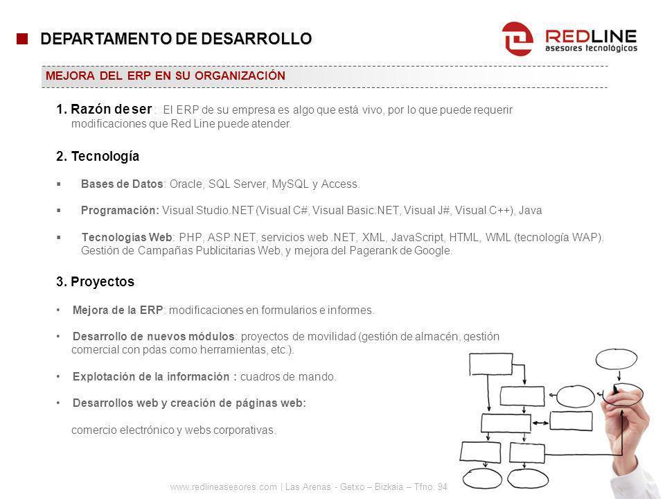 www.redlineasesores.com | Las Arenas - Getxo – Bizkaia – Tfno: 94 480 27 44 Bases de Datos: Oracle, SQL Server, MySQL y Access. Programación: Visual S