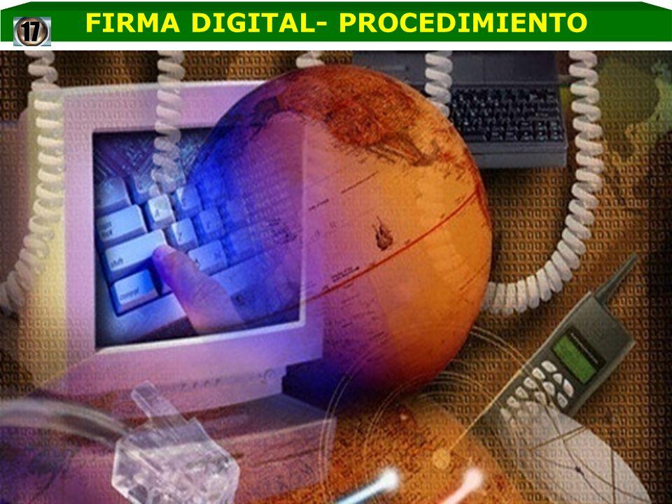 FIRMA DIGITAL- PROCEDIMIENTO17