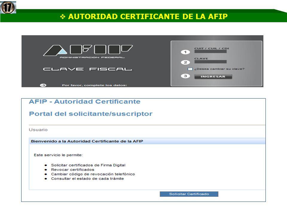PASO 1 17 Deberemos confirmar los datos personales que serán parte del certificado digital, de informar una dirección de correo esta servirá para mandarnos mensajes en forma automática y según las opciones seleccionadas podrá quedar registrado en el certificado.