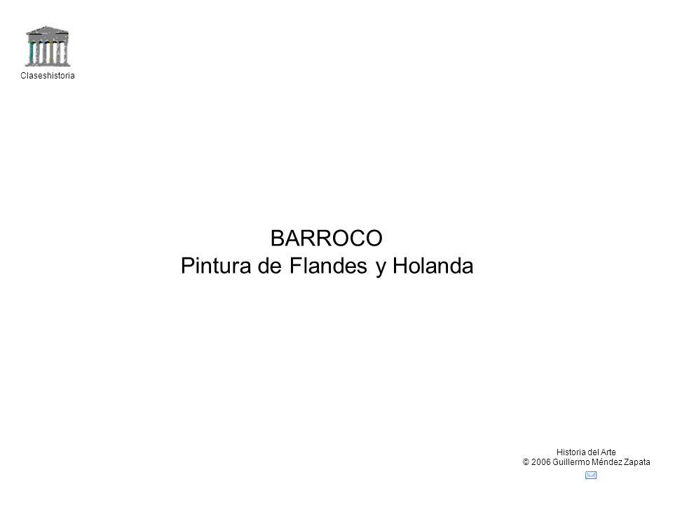 Claseshistoria Historia del Arte © 2006 Guillermo Méndez Zapata Comparación (Wölfflin) Renacimiento – Barroco (Perugino: Entrega de las llaves) Lineal: figuras y objetos con contornos definidos Predominio del dibujo Visión en superficie: Elementos del cuadro distribuidos en planos paralelos al plano del cuadro Forma cerrada: Basada en líneas verticales y horizontales (composición estática) establecen los límites del cuadro.