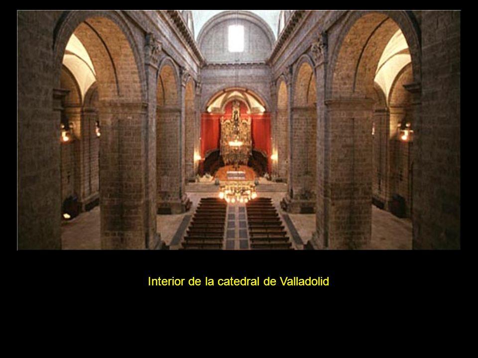 Interior de la catedral de Valladolid
