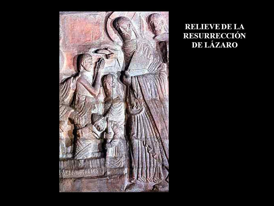 RELIEVE DE LA RESURRECCIÓN DE LÁZARO