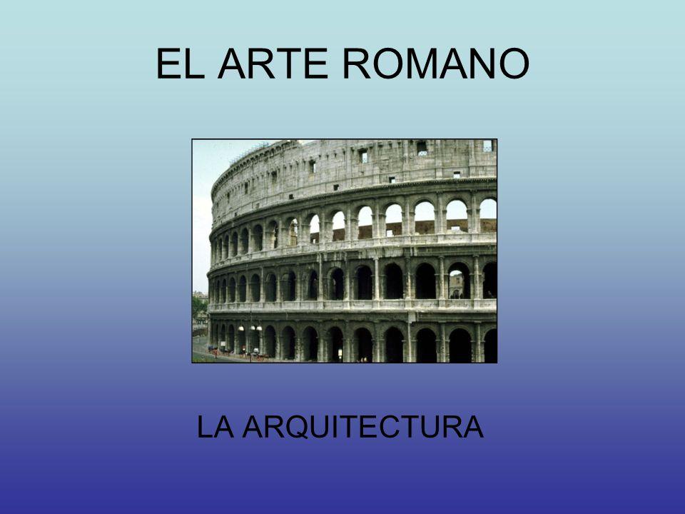 LA ARQUITECTURA ROMANA EL URBANISMOLA CONCEPCIÓN DEL ESPACIO ARQUITECTÓNICO CARACTERÍSTICAS GENERALES - Funcionalidad y monumentalidad - Sistemas constructivos - Materiales TIPOLOGÍAS ARQUITECTÓNICAS ARQUITECTURA CIVIL ARQUITECTURA RELIGIOSA EL TEMPLO ROMANO - Edificios públicos - Edificios para la diversión y el espectáculo - Monumentos conmemorativos - Monumentos funerarios - Arquitectura doméstica LAS OBRAS DE INGENIERÍA