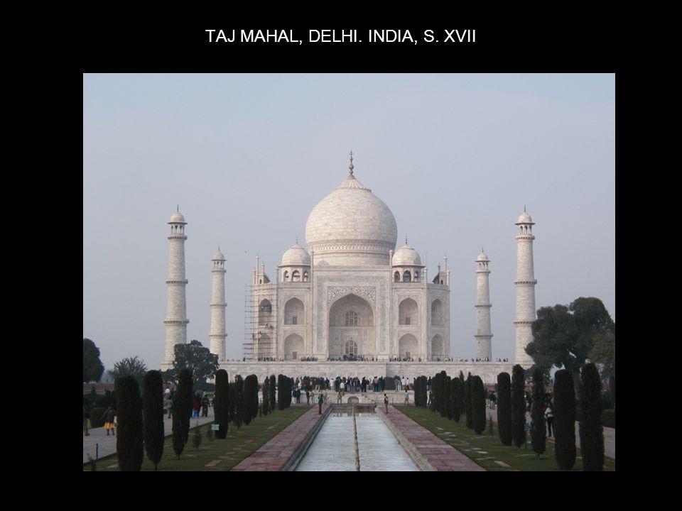 TAJ MAHAL, DELHI. INDIA, S. XVII