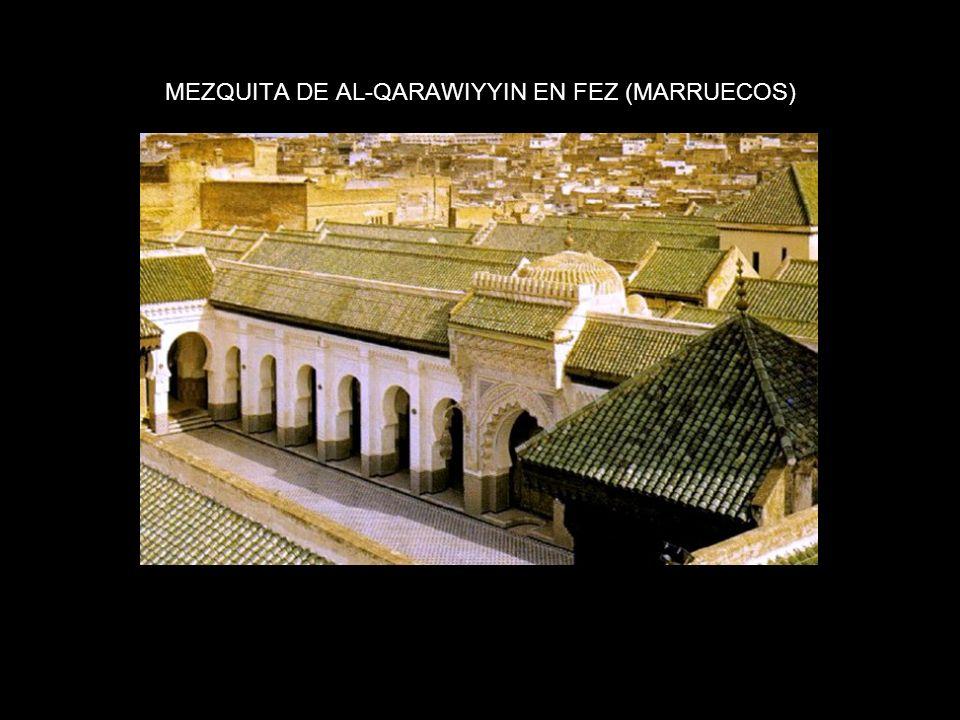 MEZQUITA DE AL-QARAWIYYIN EN FEZ (MARRUECOS)
