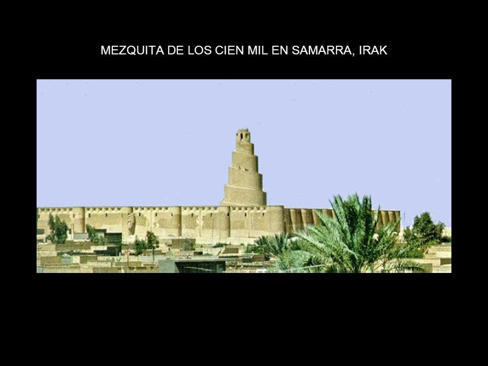 MEZQUITA DE LOS CIEN MIL EN SAMARRA, IRAK