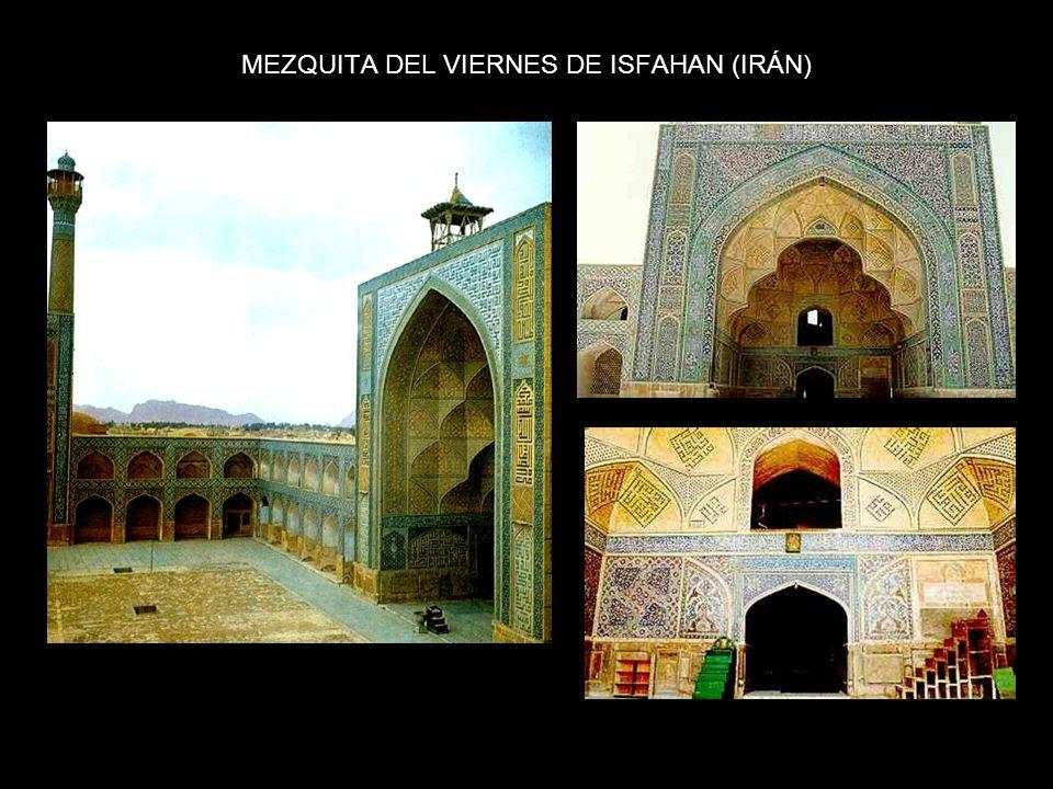 MEZQUITA REAL DE ISFAHAN, S. XVIII