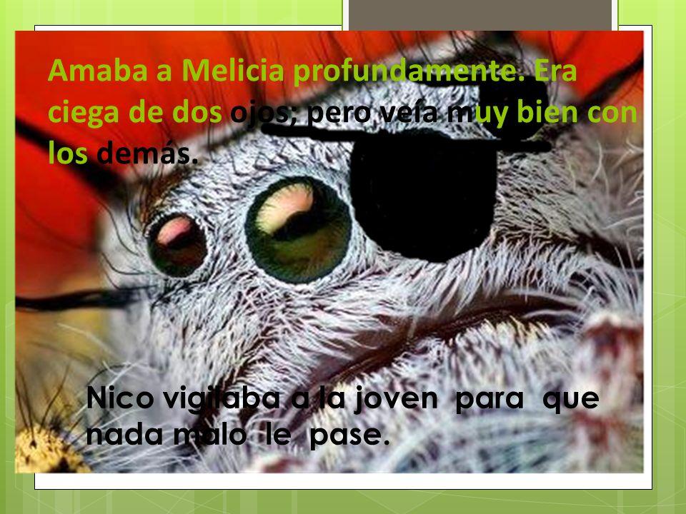 Tenía una mascota que era una araña. La tarántula se llamaba Nico y era muy grande.