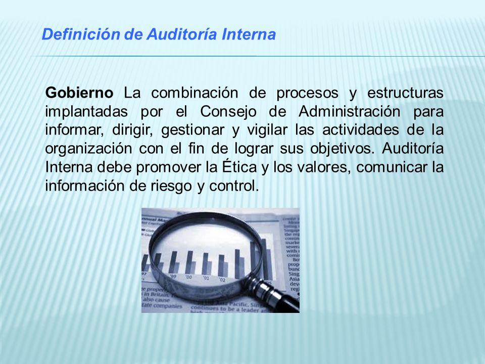 Código de Ética El trabajo de auditoría interna se basa en la confianza y, para ello, es imprescindible contar con un Código de Ética que provea de una cultura ética en la profesión de auditoría interna.