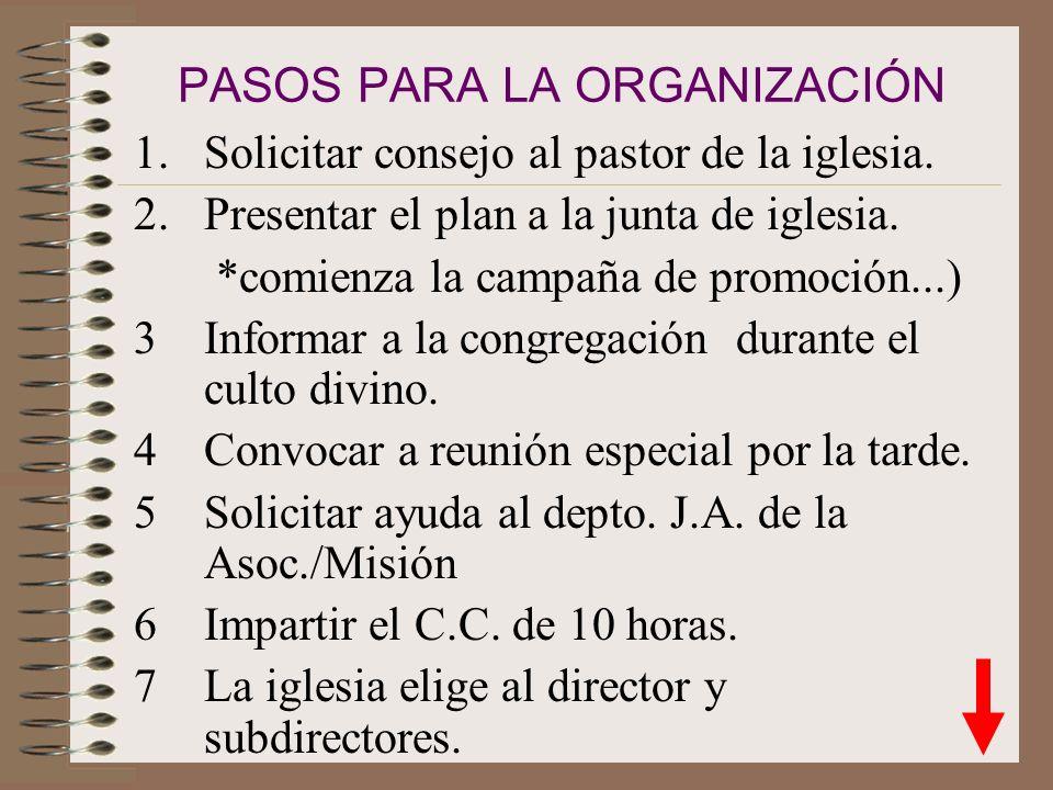 CAP. III COMO ORGANIZAR UN CLUB DE CONQUISTADORES Propósito del club: orientar a los menores por la senda de la verdad y ayudarles a emplear su entusi