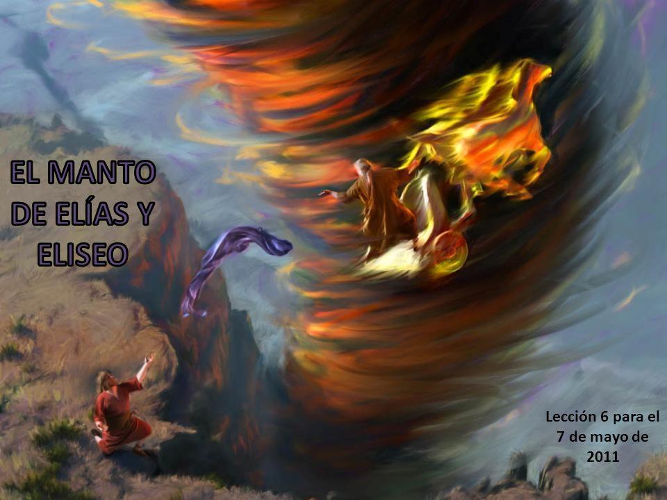 Aquel que lleve el manto de Cristo, como el de Elías, dará evidencias de mantener sus ojos en el Salvador.