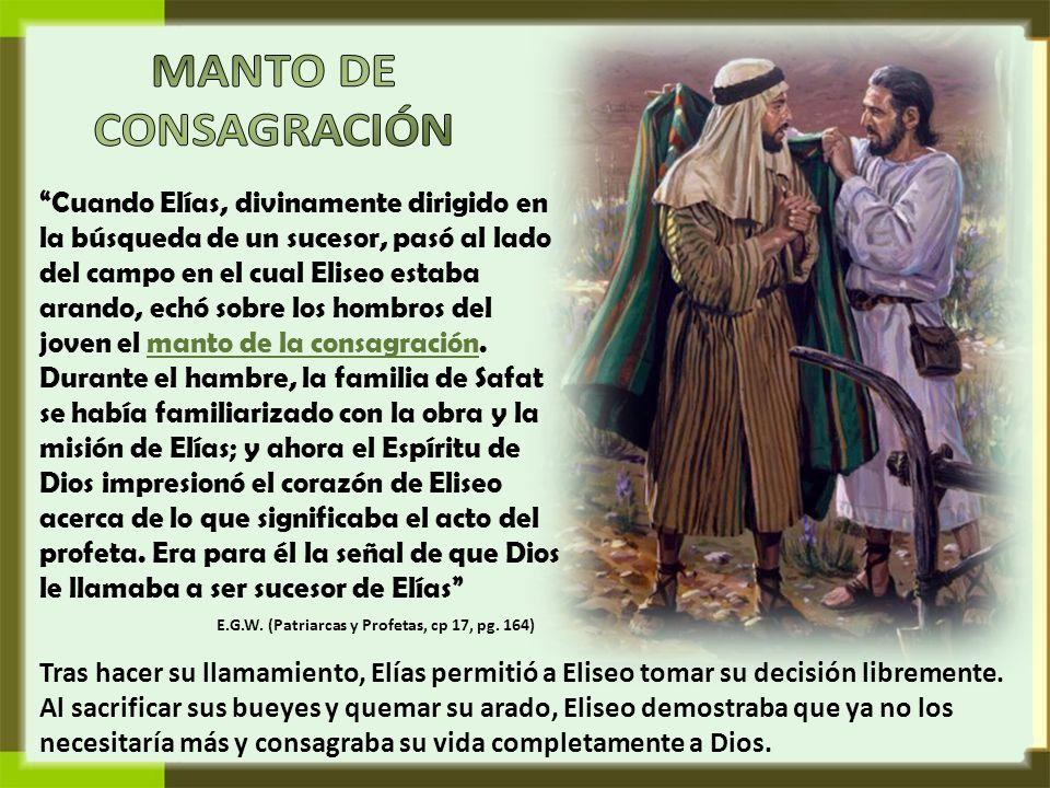 Fortalecido por el apoyo divino, Elías no dudó en seguir cumpliendo su misión.