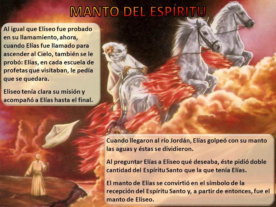 [Eliseo] No pidió honores del mundo, ni un lugar elevado entre los grandes de la tierra.