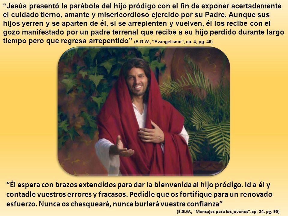 Jesús presentó la parábola del hijo pródigo con el fin de exponer acertadamente el cuidado tierno, amante y misericordioso ejercido por su Padre. Aunq