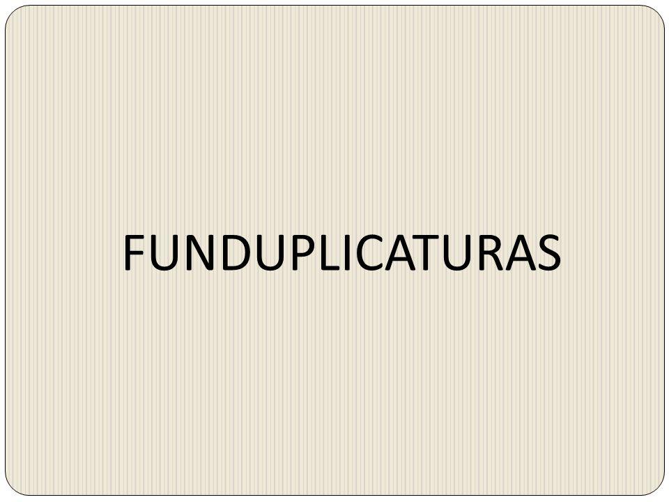 FUNDUPLICATURAS