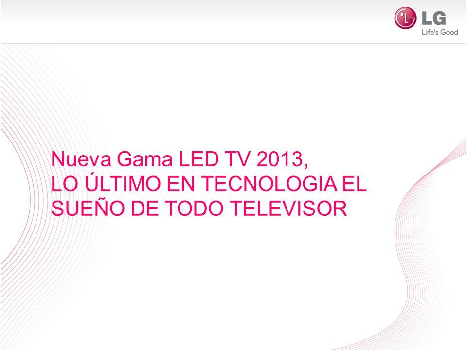 Nueva Gama LED TV 2013, LO ÚLTIMO EN TECNOLOGIA EL SUEÑO DE TODO TELEVISOR