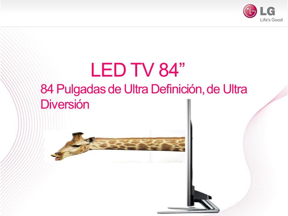 LED TV 84 84 Pulgadas de Ultra Definición, de Ultra Diversión