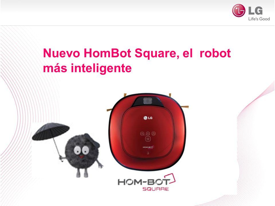 Nuevo HomBot Square, el robot más inteligente