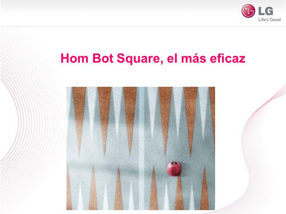 Por eso hemos desarrollado el único robot aspirador del mercado que es cuadrado y con CEPILLOS MÁS LARGOS para que limpie hasta las esquinas más escondidas.