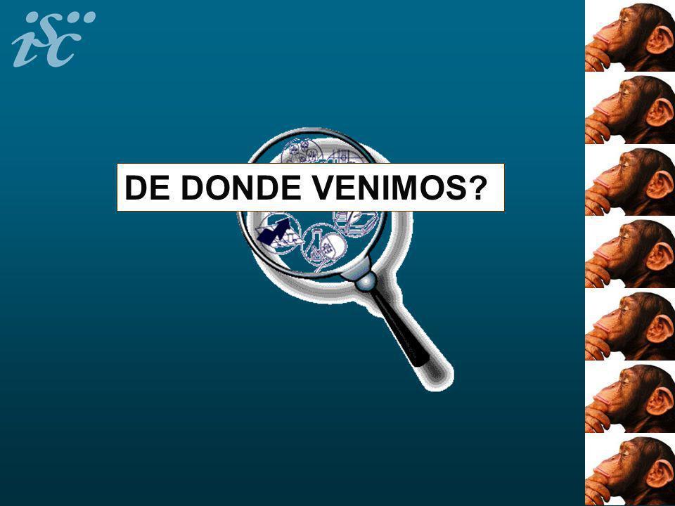 DE DONDE VENIMOS