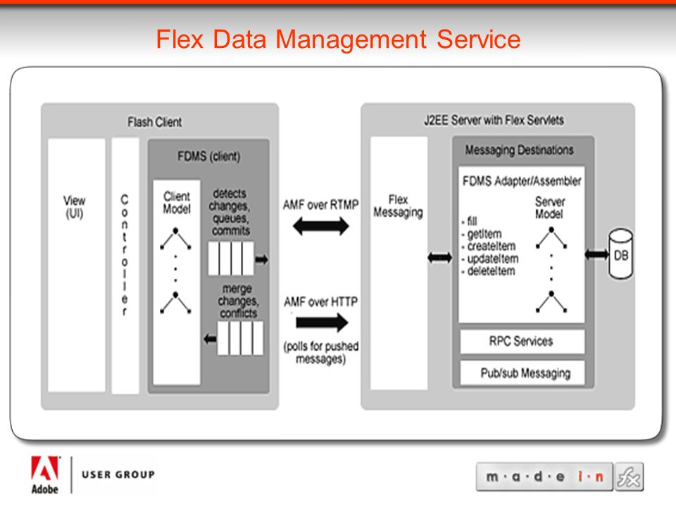 Flex Data Management Service