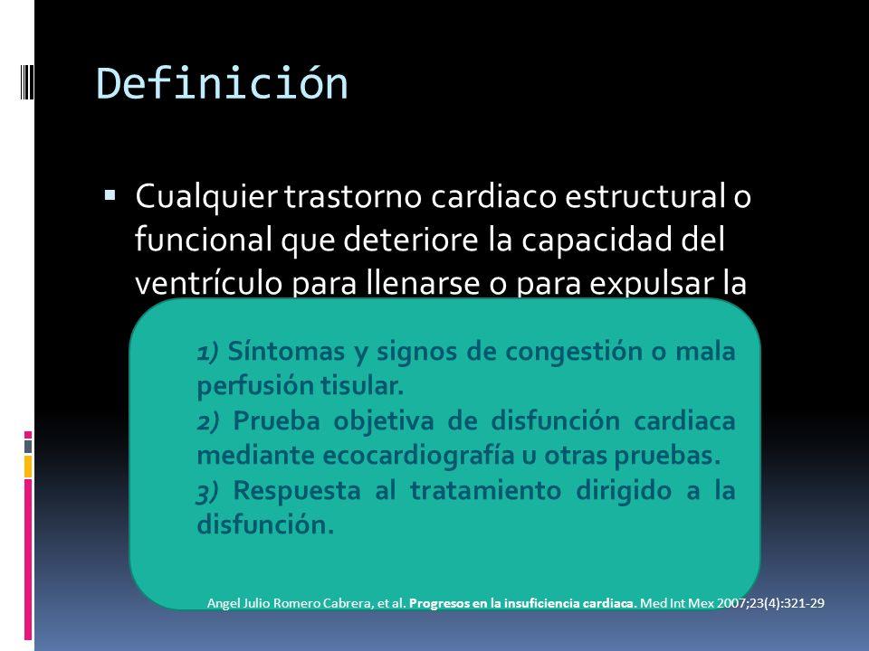 Insuficiencia cardiaca Angel Julio Romero Cabrera, et al.