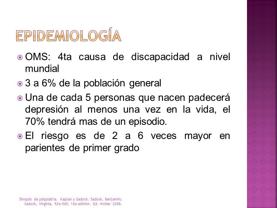 The Medical Management of Depression. Mann J. N Engl J Med 2005;353:1819-34..