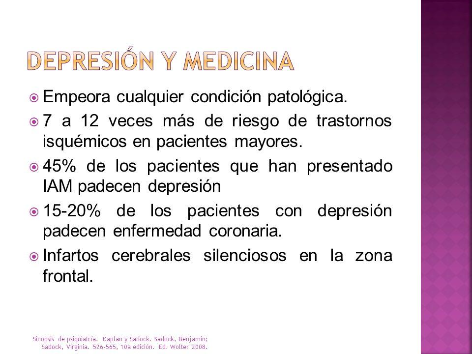 RASKIN Mide la gravedad de la depresión del paciente según los informes del paciente y la observación del médico Escala de 5 puntos que abarca: Informe verbal Comportamiento mostrado Síntomas secundarios Intervalo de 3 a 13.