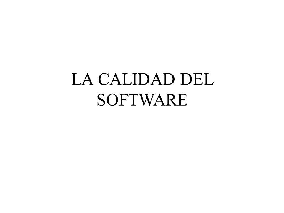 Administración de la calidad del Software Se refiere a lograr un nivel de calidad requerido en el producto de software Involucra a la definición de estándares de calidad apropiados y procedimientos que permitan asegurar que estos se cumplan.