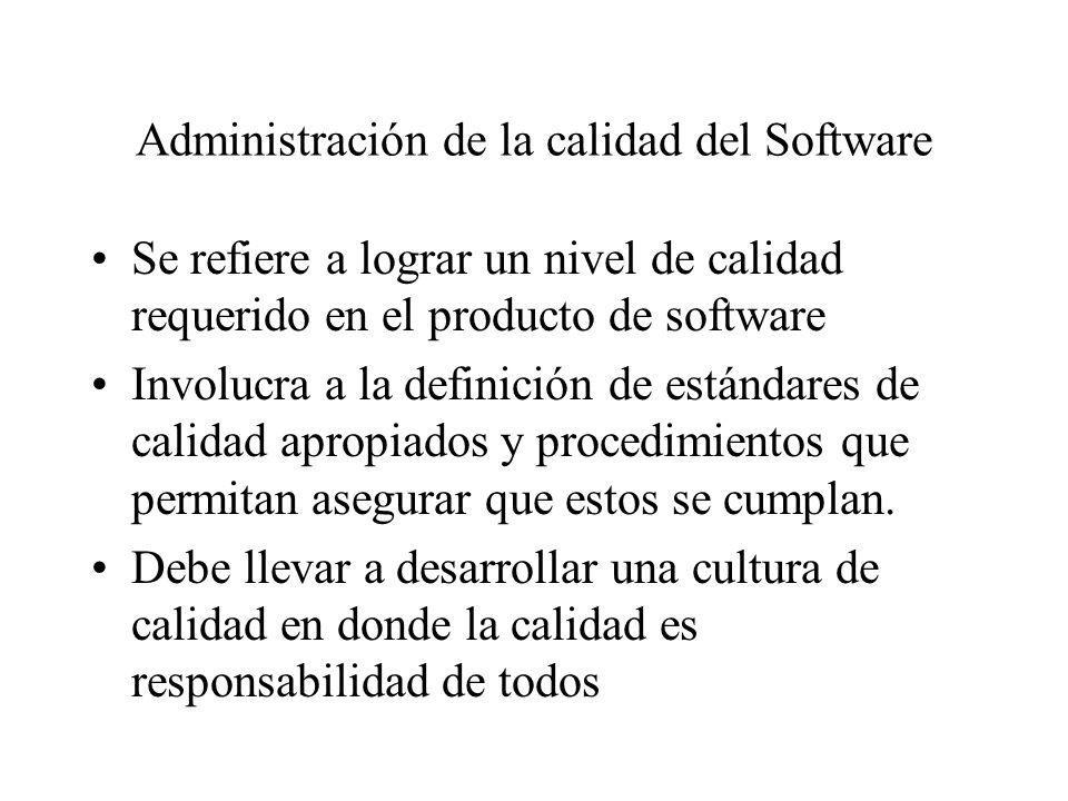 relación entre modelos de calidad del software ISO 9000 1987 ISO 9000-3 1991 CMM 1986 BOOTSTRAP 1993 SPICE 1994