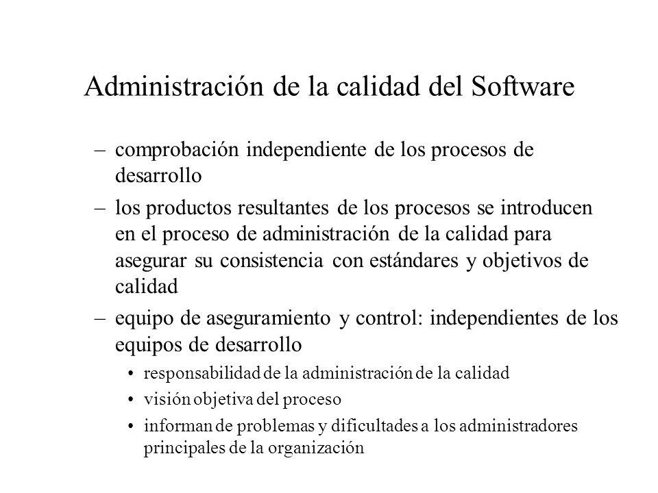 modelos de calidad: capability maturity model (CMM) Software Engineering Institute (Carnegie Mellon University), 1986: modelo para evaluar el grado de madurez con que las organizaciones desarrollaban software.
