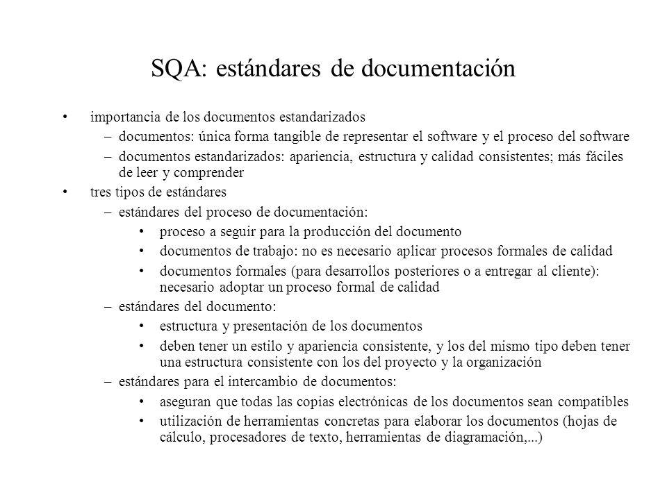 SQA: Estandares de documentación fuente: I.