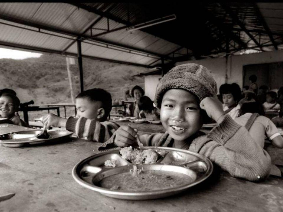 Todo menor tiene derecho a una alimentación sana y diaria