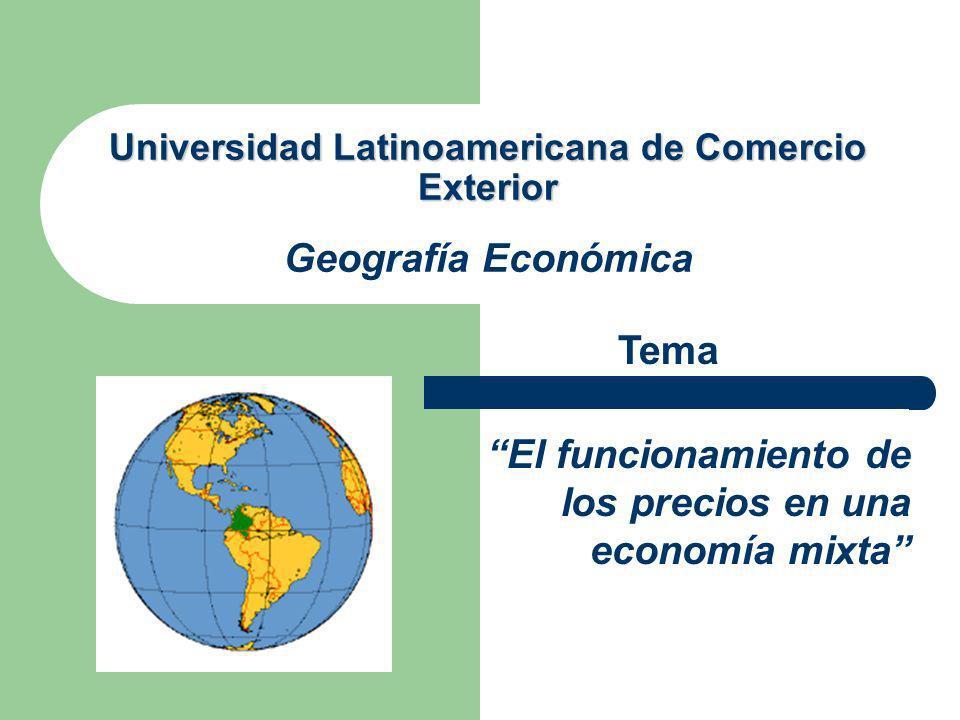 MECANISMOS DEL MERCADO Las condiciones federales y preindustriales fueron sustituidas gradualmente por un mayor énfasis en lo que llamamos mecanismos de mercado.