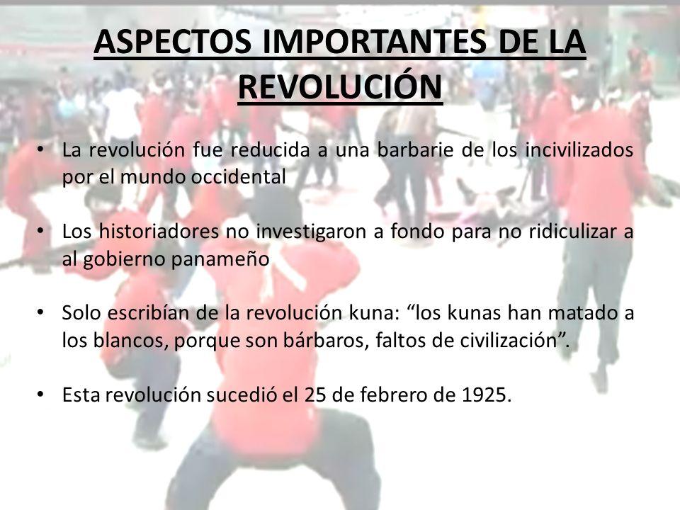 ASPECTOS IMPORTANTES DE LA REVOLUCIÓN Historiadores como Castillero defienden la bondad del gobierno, y juzgan el levantamiento como ingratitud de la incivilización.