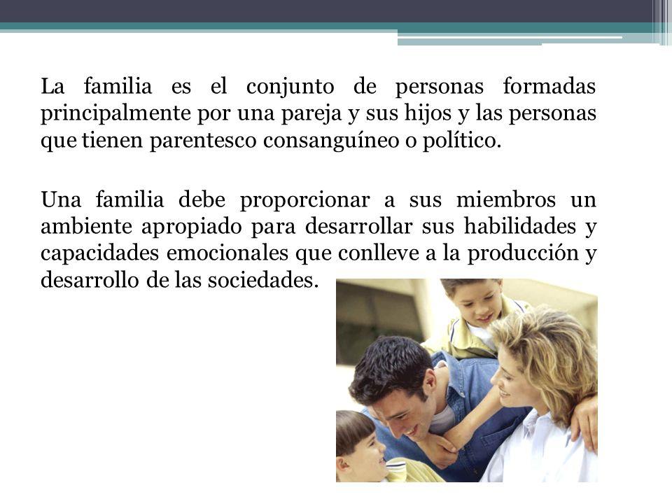 Funciones de la familia son: De formación de personas: las relaciones familiares influyen en el desarrollo de las personalidad de sus miembros.