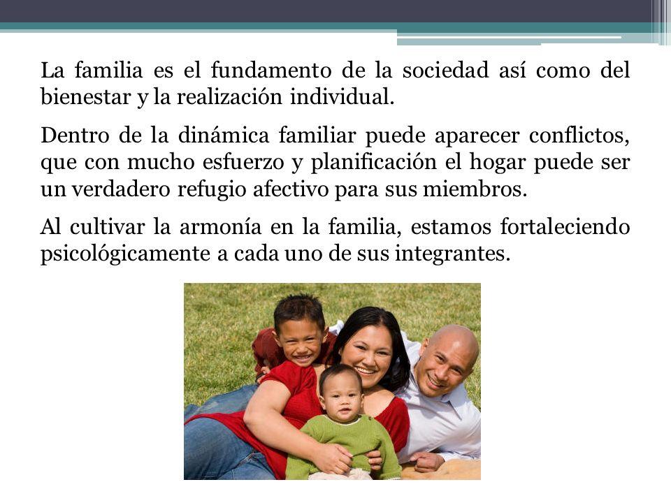 CONSEJOS UTILIES PARA UNA MEJOR CONVIVENCIA FAMILIAR Hagamos del hogar un lugar atractivo.