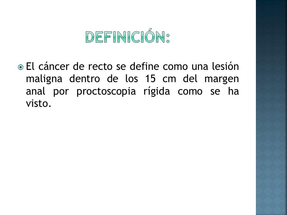 Diuresis forzada por la hidratación intravenosa con o sin diuréticos deben ser considerado para obtener imágenes de cáncer rectal.