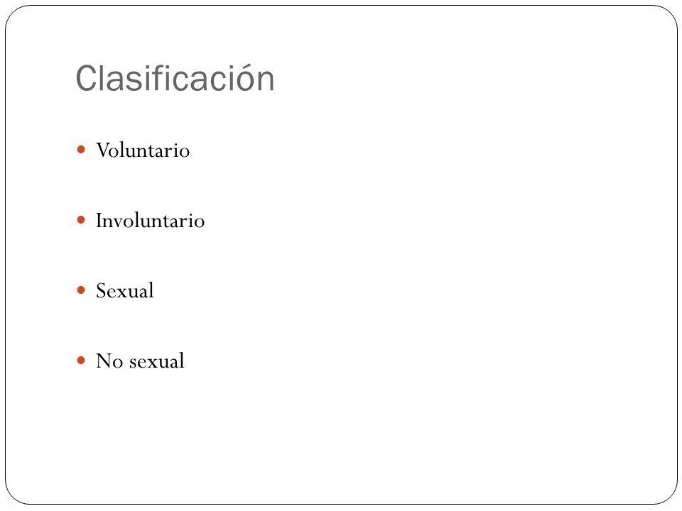 Clasificación Grado I: Hematoma y laceración Grado II: Laceración de menos del 50% Grado III.
