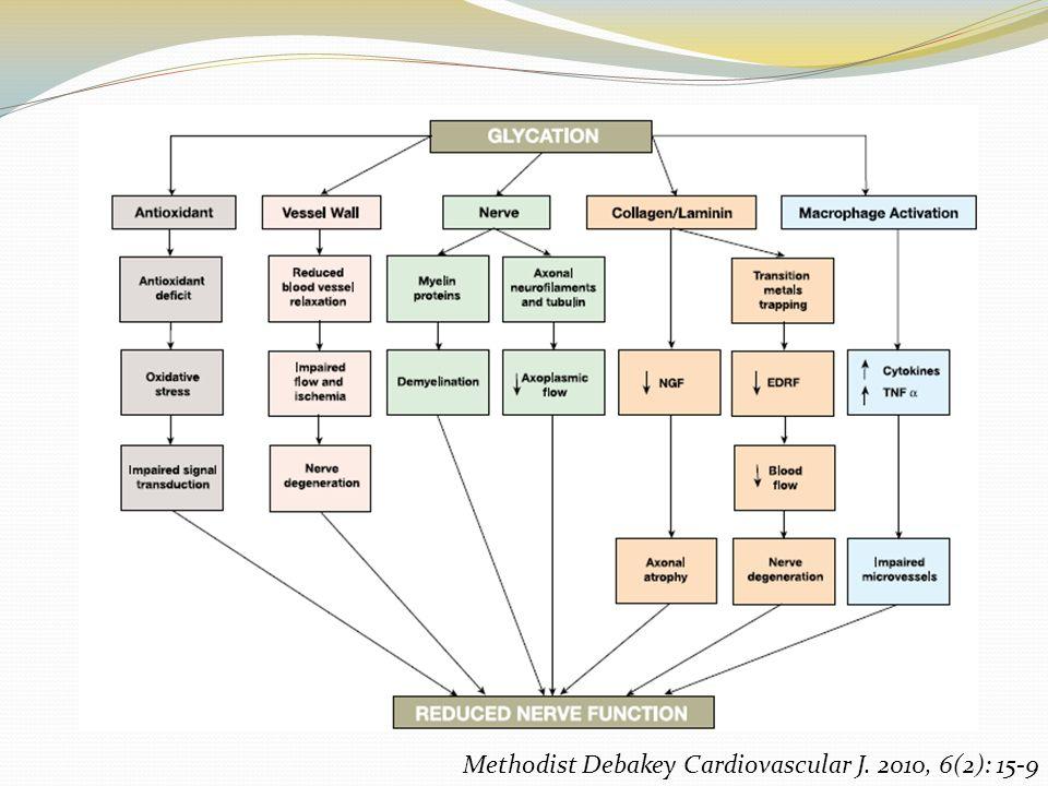 Neuropatías diabéticas Evaluación inicial Retinopatía concomitante Pruebas de conducción nerviosa Descartar otras causas de neuropatías Estimación de la severidad Criterios de Dyck Diagnóstico Electromiografía Prueba cuantitativa del reflejo axónico sudomotor (QSART) Biopsia de piel Diabetes Care 33:2285–2293, 2010 NEUROLOGY 1993;43:817-824 N Engl J Med 2003;348:1243-55.