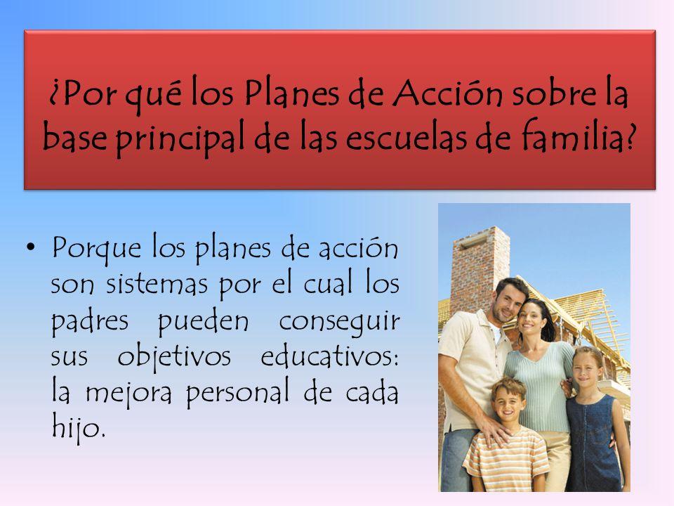 Los padres actúan como consecuencia de un hecho que ya ha sucedido.