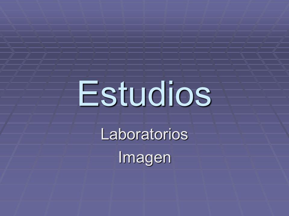Estudios LaboratoriosImagen