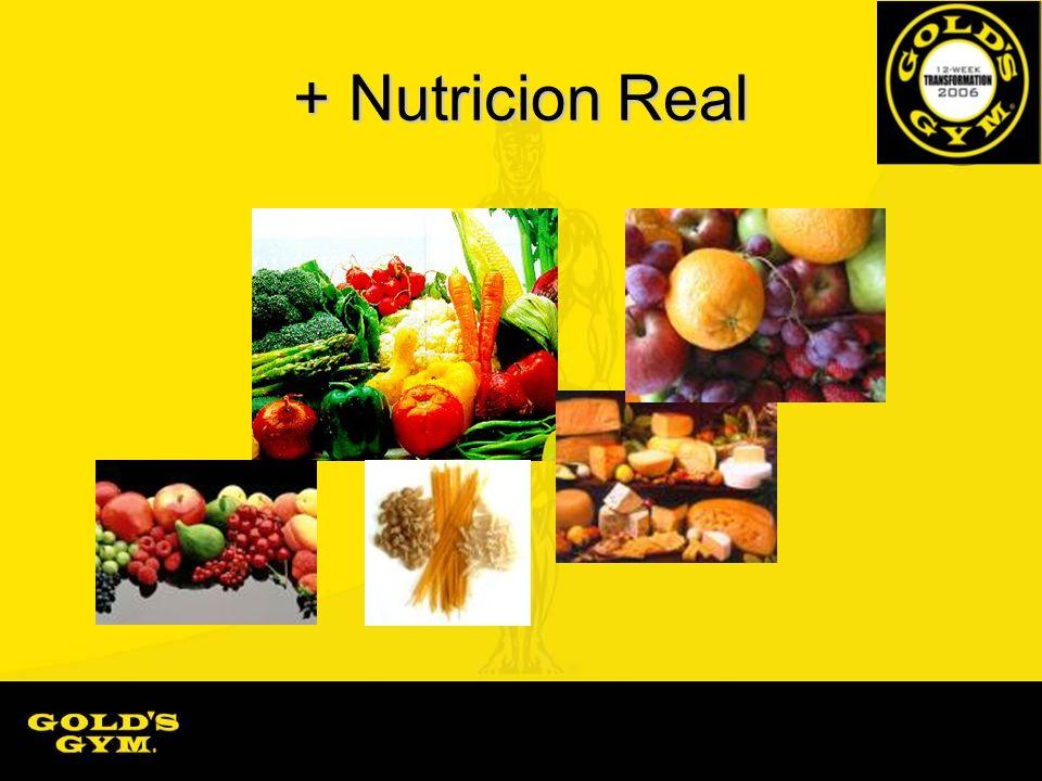 + Nutricion Real